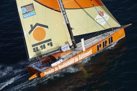 Lorient, défi Azimut, Mono 60 pieds PRP, Skippers, Vincent Riou et Sebastien Col