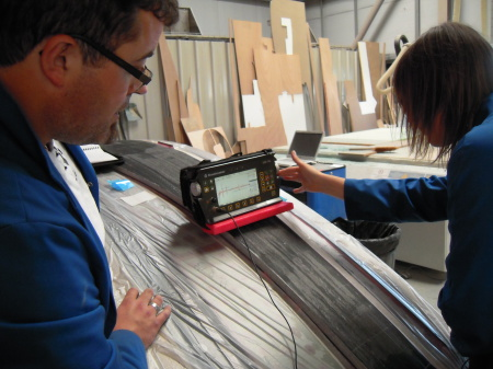 Contrôle ultra-son carbone Ultrasonic carbon control