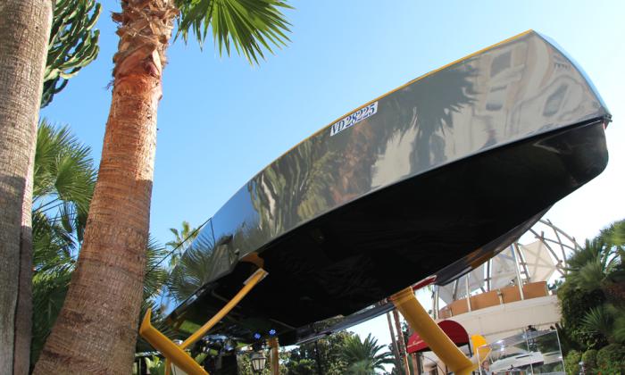 bateau à moteur volant en composite boat composite flywheel