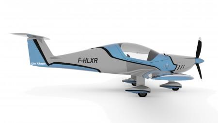 Elixir aircraft carbon innovative plane