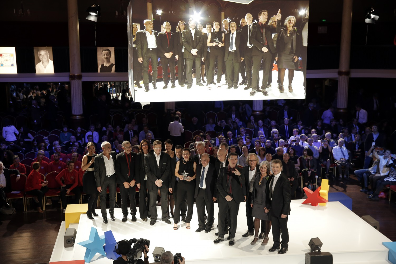 Remise des prix nationale stars et métiers 2015 salle Wagram
