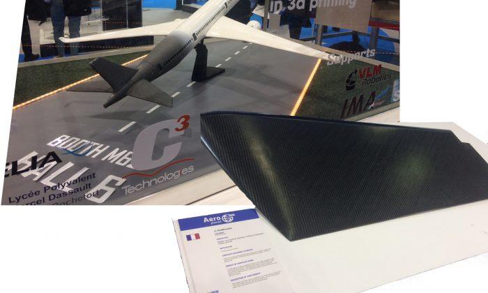 Jec dérive elixir aircraft et impression 3d carbone recyclé