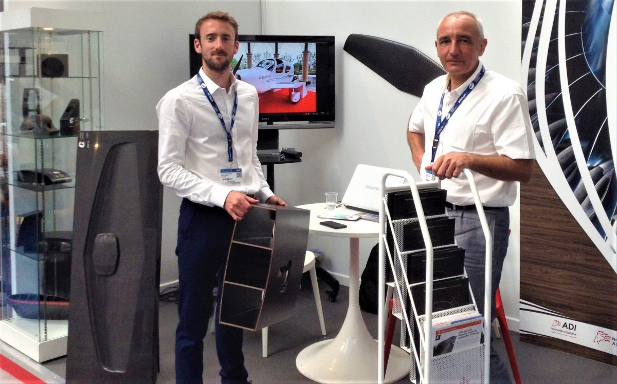 Paris air show aircraft composite parts C3 Technologies