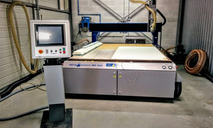 CNC milling machine for soft material, aluminium and carbon